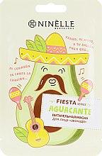 """Духи, Парфюмерия, косметика Питательная тканевая маска для лица """"Авокадо"""" - Ninelle Fiesta"""