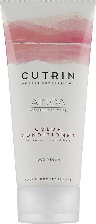 """Кондиционер для волос без сульфатов """"Защита цвета"""" - Cutrin Ainoa Color Conditioner"""