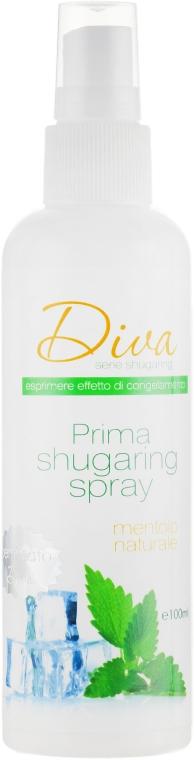 Спрей до и после депиляции - Diva Cosmetici Sugaring Professional Line
