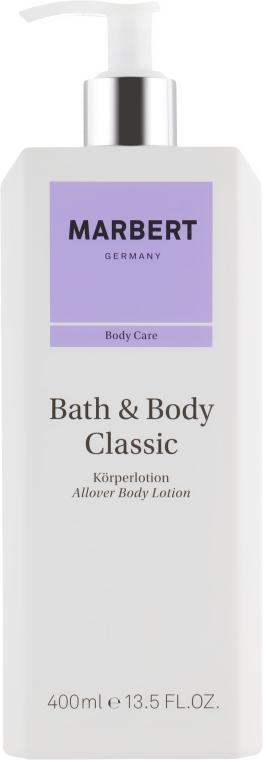 Лосьон для тела - Marbert Classic Bath En Body Lotion