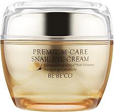 Духи, Парфюмерия, косметика Крем вокруг глаз с экстрактом улитки - Bebeco Premium Snail