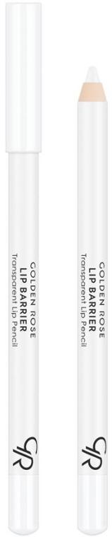 Бесцветный контурный карандаш для губ - Golden Rose Lip Barrier Transparent Lip Pencil