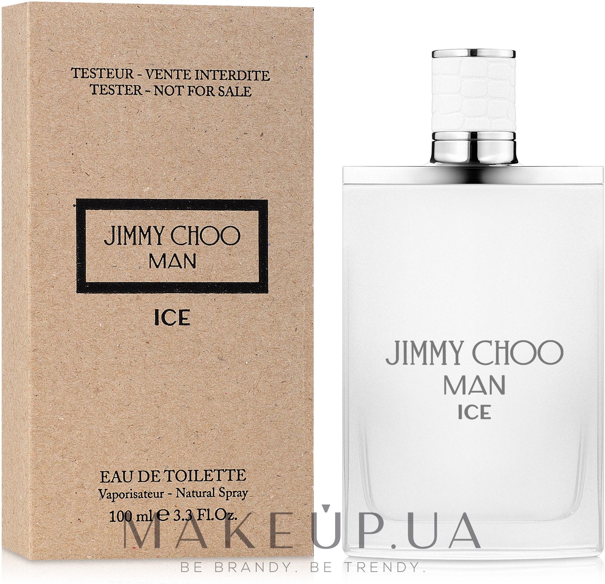 Jimmy Choo Man Ice - Туалетная вода (тестер без крышечки) — фото 100ml