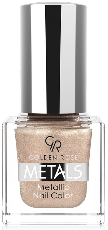Лак для ногтей - Golden Rose Metals Metallic Nail Color