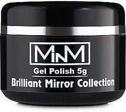 Духи, Парфюмерия, косметика Гель-лак для ногтей, 5 г - M-in-M Brilliant Mirror Collection