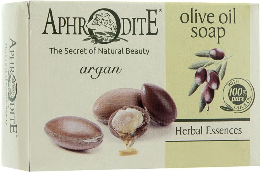 Оливковое мыло с арганой - Aphrodite Olive Oil Soap With Argan