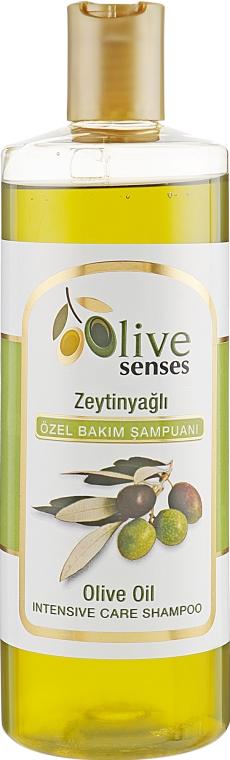 Шампунь для волос с оливковым маслом - Selesta Senses Olive Oil Shampoo