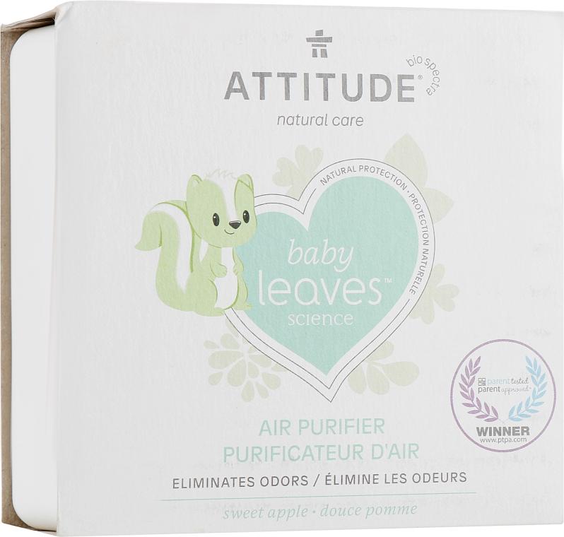 """Очиститель воздуха """"Сладкое яблоко"""" - Attitude Natural Air Purifier Sweet Apple Hypoallergenic"""