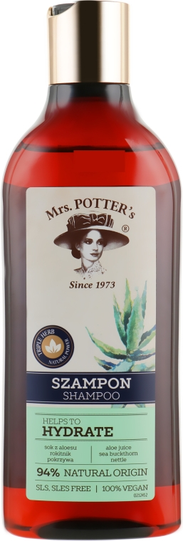 Шампунь - Mrs. Potter's Helps To Hydrate Shampoo
