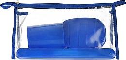 Духи, Парфюмерия, косметика Дорожный набор туалетных принадлежностей 98020, синий - SPL