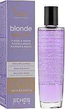 Сироватка для світлого і фарбованого волосся - Echosline Seliar Blond Serum — фото N1