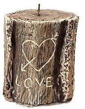Духи, Парфюмерия, косметика Ароматическая свеча, 11,5х13 см., пень коричневый - Artman Stump Valentin