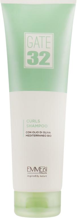Шампунь для кудрявых волос - Emmebi Italia Gate 32 Oliva Bio Curls Shampoo