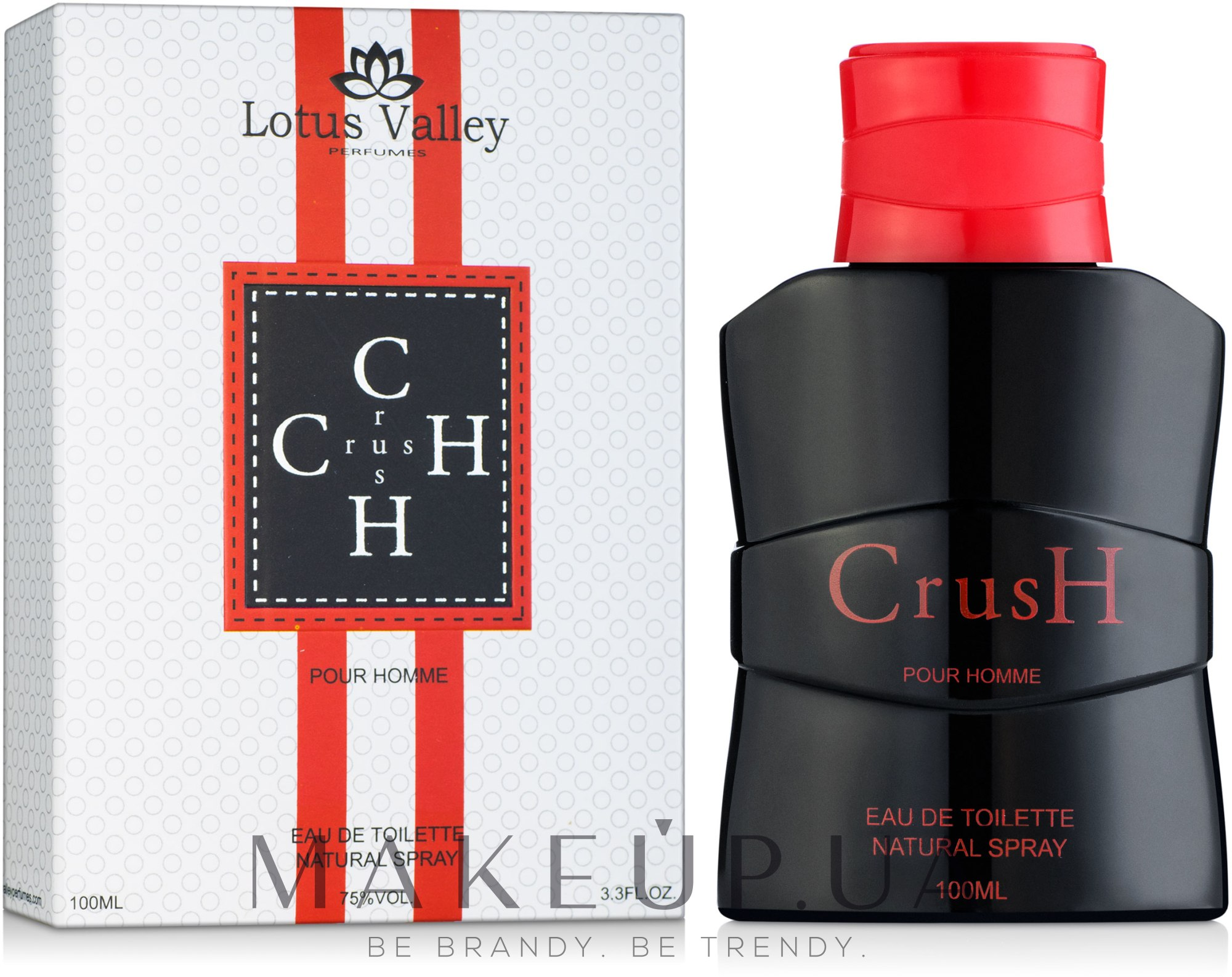 Lotus Valley Crush Pour Homme - Туалетная вода — фото 100ml