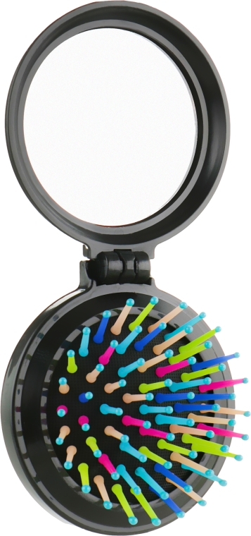 Расческа складная с зеркалом - Ласковая