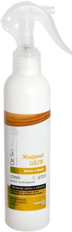 "Спрей для волос ""Длина и Блеск"" - Dr. Sante Silk Care Spray"