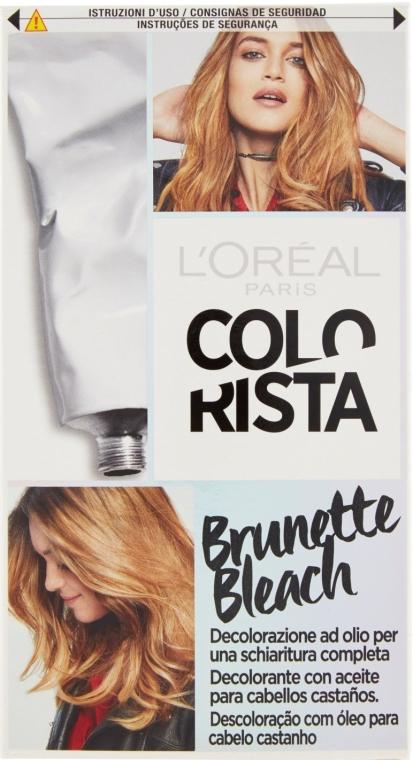 Крем-краска для темных волос осветляющая - L'Oreal Paris Colorista Brunette Bleach