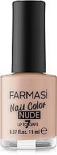 Парфумерія, косметика Лак для нігтів - Farmasi Nail Color Nude
