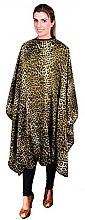 Духи, Парфюмерия, косметика Парикмахерская накидка, 02502/61, леопардовая желтая - Eurostil
