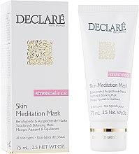 Парфумерія, косметика Інтенсивна заспокійлива маска миттєвої дії для обличчя - Declare Stress Balance Skin Meditation Mask