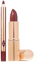 Парфумерія, косметика Набір для губ - Charlotte Tilbury Lip Kit Intense(liner/1.2g+lipstick/3.5g)