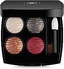 Духи, Парфюмерия, косметика Лиммитированная палетка теней для век - Chanel Eclat Enigmatique Exclusive Creation Quadra Eyeshadow