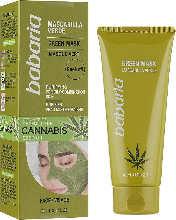 Очищающая маска - Babaria Cannabis