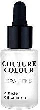 Духи, Парфюмерия, косметика Средство для ухода за ногтями и кутикулой «Кокос» - Couture Colour Spa Sens Cuticle Oil Coconut