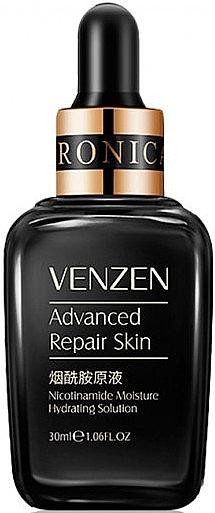 Сыворотка для лица с никотинамидом и гиалуроновой кислотой - Venzen Advanced Repair Skin Nicotinamide Moisture Hydrating Solution