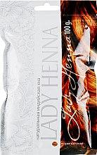 Духи, Парфюмерия, косметика Хна натуральная Коричневая - Lady Henna