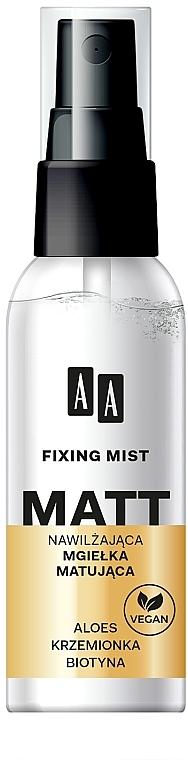 Матирующий спрей для лица - AA Matt Fixing Mist