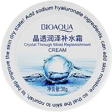 Духи, Парфюмерия, косметика Гель для лица c гиалуроновой кислотой - Bioaqua Crystal Through Moist Replenishment