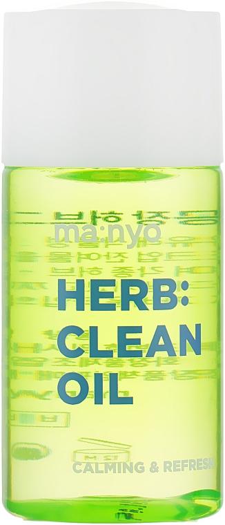 Гидрофильное масло с экстрактом трав - Manyo Factory Herb Green Cleansing Oil (мини)