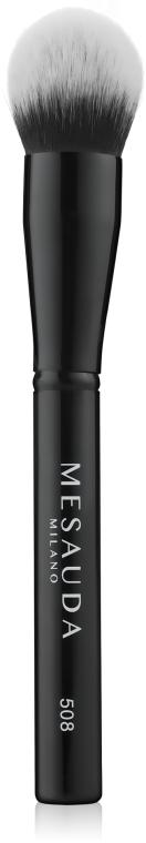 Коническая кисть для пудры - Mesauda Milano Tapered Powder Brush 508