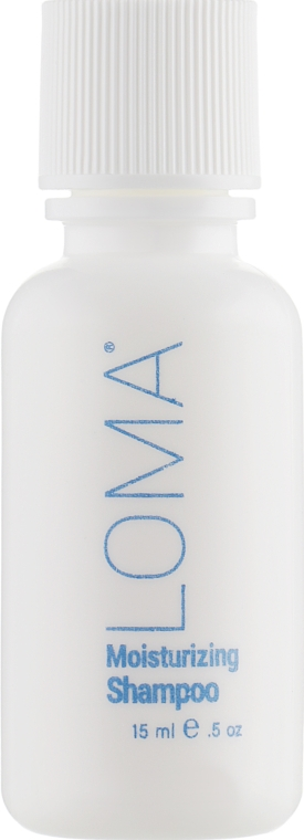 Шампунь для увлажнения волос - Loma Hair Care Moisturizing Shampoo (мини)