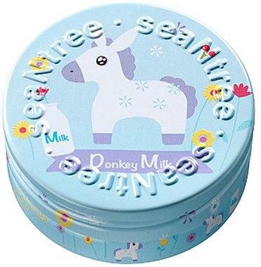 Крем для лица с ослиным молоком, дизайн 5 - SeaNtree Donkey Milk Water Drop Cream S5