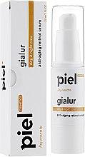 Антивікова зволожуюча сироватка гіалуронової кислоти з колагеном і еластином ретинолом - Piel cosmetics Rejuvenate Piel Gialur — фото N2