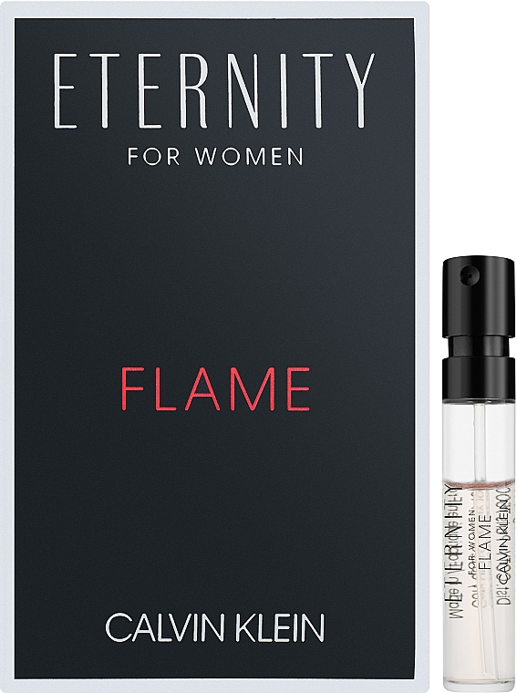 Calvin Klein Eternity Flame For Women - Парфюмированная вода (пробник)