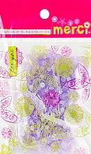 Духи, Парфюмерия, косметика Шапочка для душа, MB2260, фиолетовая - Merci