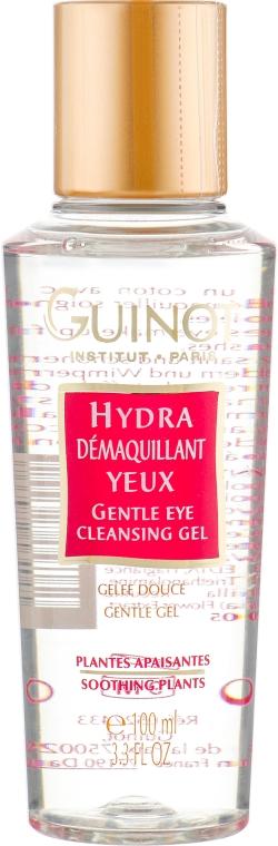 Нежный очищающий гель для области глаз - Guinot Hydra Demaquillant Yeux