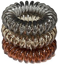 Духи, Парфюмерия, косметика Резинки для волос, 3,5 см - Ronney Professional S19 MET