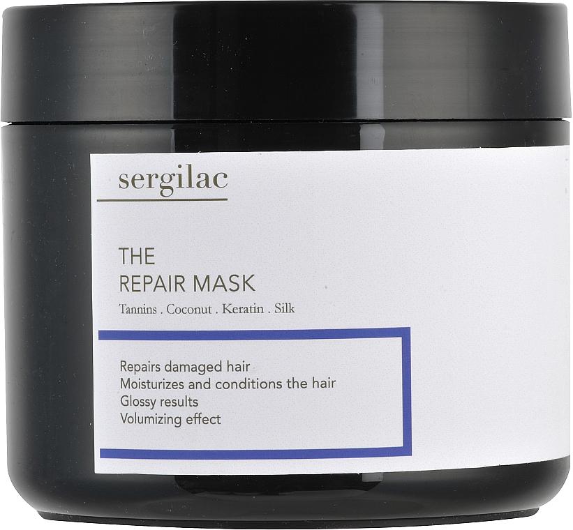 Восстанавливающая маска для волос - Sergilac The Repair Mask