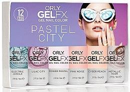 Духи, Парфюмерия, косметика Набор гель-лаков 35024 - Orly Gel FX Pastel City (7 х nail/9 ml)
