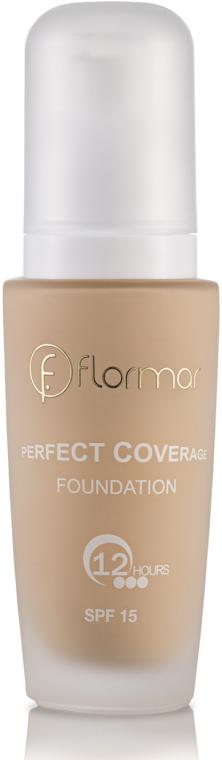 Тональный крем - Flormar Perfect Coverage Foundation