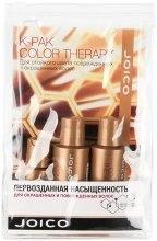 Духи, Парфюмерия, косметика Набор - Joico K-Pak Color Therapy (oil/21.5ml + shm/50ml + cond/50ml)