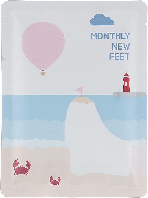 Носки для педикюра отшелушивающие - Pack Age Monthly New Feet Socks Pack