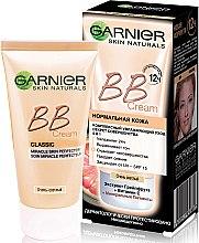 Духи, Парфюмерия, косметика Комплексный увлажняющий BB-крем для нормальной кожи - Garnier Skin Naturals