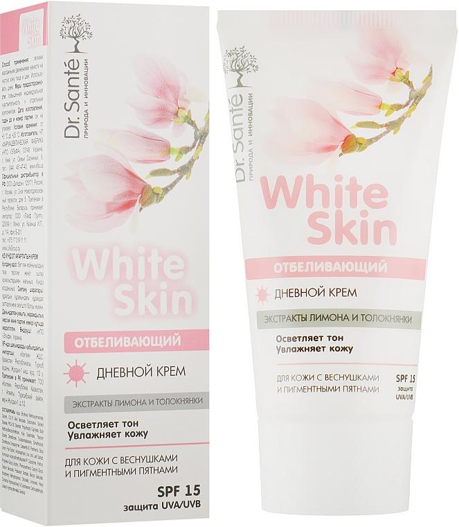 Отбеливающий дневной крем для лица - Dr. Sante White Skin SPF15