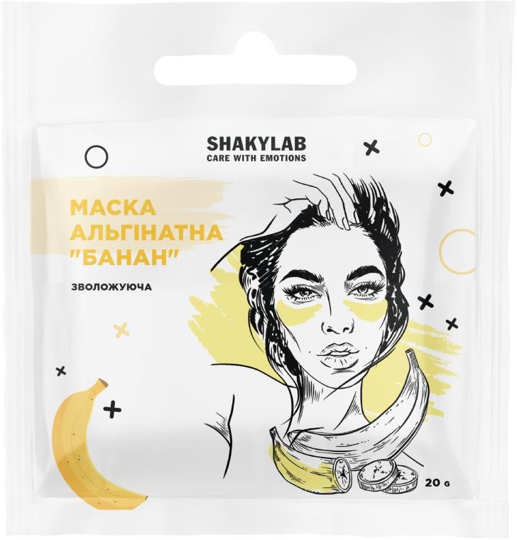 """Альгинатная маска для увлажнения кожи """"Banana"""" - SHAKYLAB Fresh Alginate Mask"""