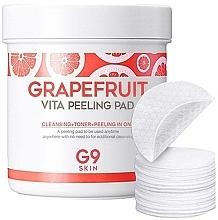 Духи, Парфюмерия, косметика Пилинг-пэды для очищения кожи с грейпфрутом - G9Skin Grapefruit Vita Peeling Pad